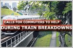 Calls for commuters to help when trains break down