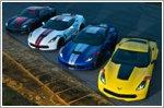 Champion Corvette racers design unique series models