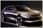 First sketches of the Skoda Kamiq revealed