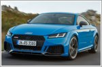 Audi updates the TT RS with a sharper design