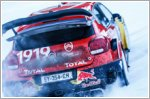 Citroen C3 WRC heads for winter wonderland
