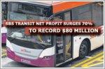 SBS Transit's net profit surges 70% to record $80 million