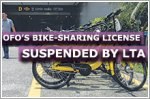 ofo's bike-sharing licence suspended by LTA
