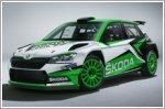 Skoda Fabia R5 rally car gets updated