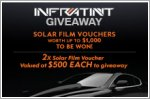 Solar Film vouchers worth up to $1,000 to be won