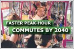 Peak-hour commutes of no more than 45 minutes by 2040