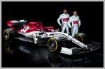 Alfa Romeo launches its new Alfa Romeo Racing C38 F1 car