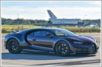 NASA astronaut tests the Bugatti Chiron