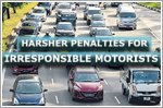 New offences and harsher penalties for irresponsible motorists