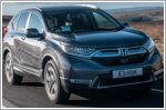 New Honda CR-V scores five-star Euro NCAP rating