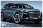 Audi Q4 e-tron concept presented in Geneva