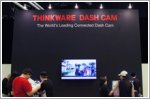 Thinkware's NB-IoT equipped dash cam showcased at IT Show for the first time