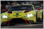 Valiant performances goes unrewarded for Aston Martin