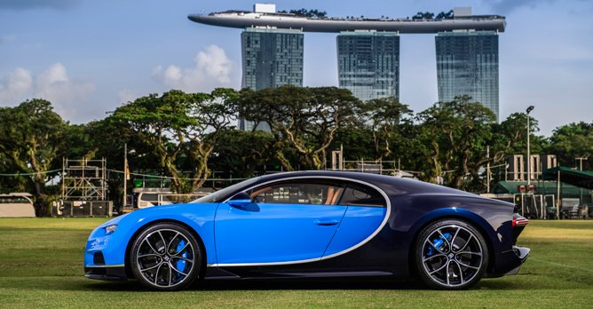 Bugatti delivers first Chiron in South East Asia
