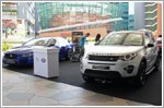 Experience luxurious Jaguar and Land Rover cars at Changi City Point