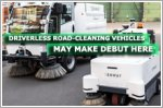 Driverless road-cleaning vehicles may make debut here