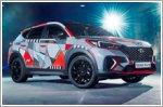 Hyundai showcases unique Tucson art project