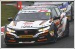 Honda leads manufacturer standings in BTCC