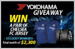 Yokohama Giveaway - Win a pair of Chelsea FC jerseys (worth $2,300 in total)