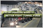 $163.5m upgrading works to better fight tunnel fires