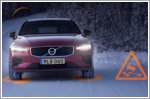 Volvo cars to warn each other of road hazards in Europe