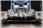 Volkswagen ID. R uses F1 technology for optimal aerodynamics