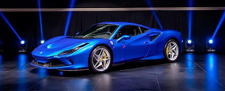 The Regional Launch Of The Ferrari F8 Tributo