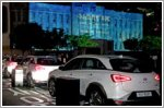 Hyundai illuminates Earth Day in Seoul with the Nexo