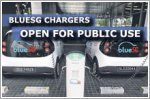 Owners of electric vehicles can use BlueSG chargers from today