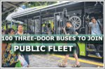 100 three-door buses to join public fleet from next year