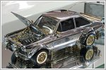 Tiny classic Ford Escort made of gold, diamonds and silver to fetch a fortune
