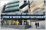 Fort Canning Link and Tunnel closed for a week from Saturday