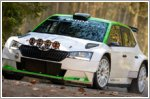 Competitive debut of the updated Skoda Fabia R5