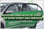 Private-hire operators may get licence to offer street-hail services