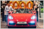Porsche Centre Singapore marks milestone with delivery of its 6000th car