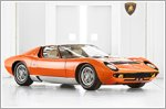 Lamborghini Miura P400 certified in the 1969 film 'The Italian Job'