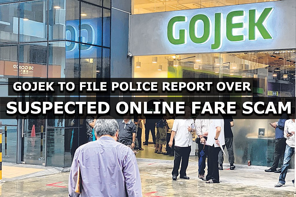 Gojek to file police report over suspected online fare scam