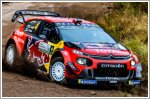 Citroen C3 WRC tastes Chile for the first time