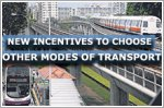 New incentives to choose other modes of transport