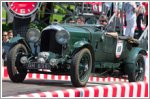 Bentley marks centenary with Mille Miglia run