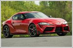 All new 2020 GR Supra ready for the road