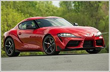 2020 GR Supra ready for the road