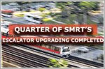 Quarter of SMRT's escalator upgrading completed, most to be done by end-2021
