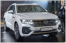 Volkswagen launches the Touareg in Singapore