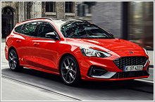 All new Ford Focus ST debuts wagon body style