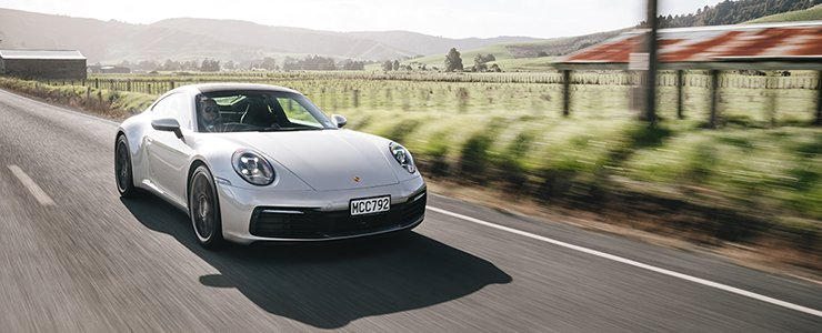 The regional media launch of the brand new Porsche 911