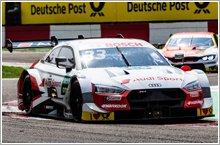 Audi takes second win in DTM