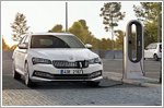 Skoda unveils new Superb iV plug-in hybrid