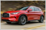 Infiniti QX50 awarded five-star safety rating