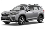 Subaru Forester wins Grand Prix Award for safety